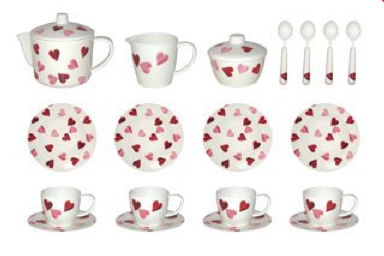 Emma Bridgewater Hearts Set