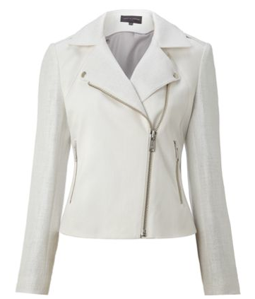 Pied a Terre White Bomber