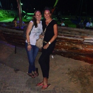Saz and Tori Dubai Offshore Sailing club