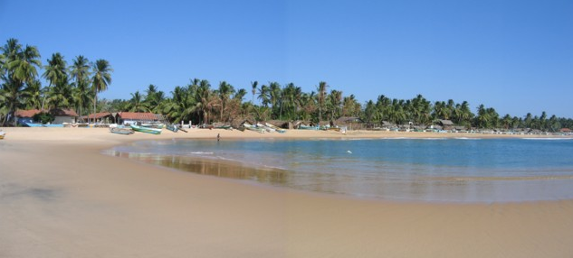 Arugam Bay in Sri Lanka