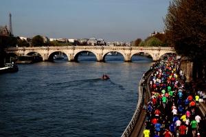 Paris Marathon Seine