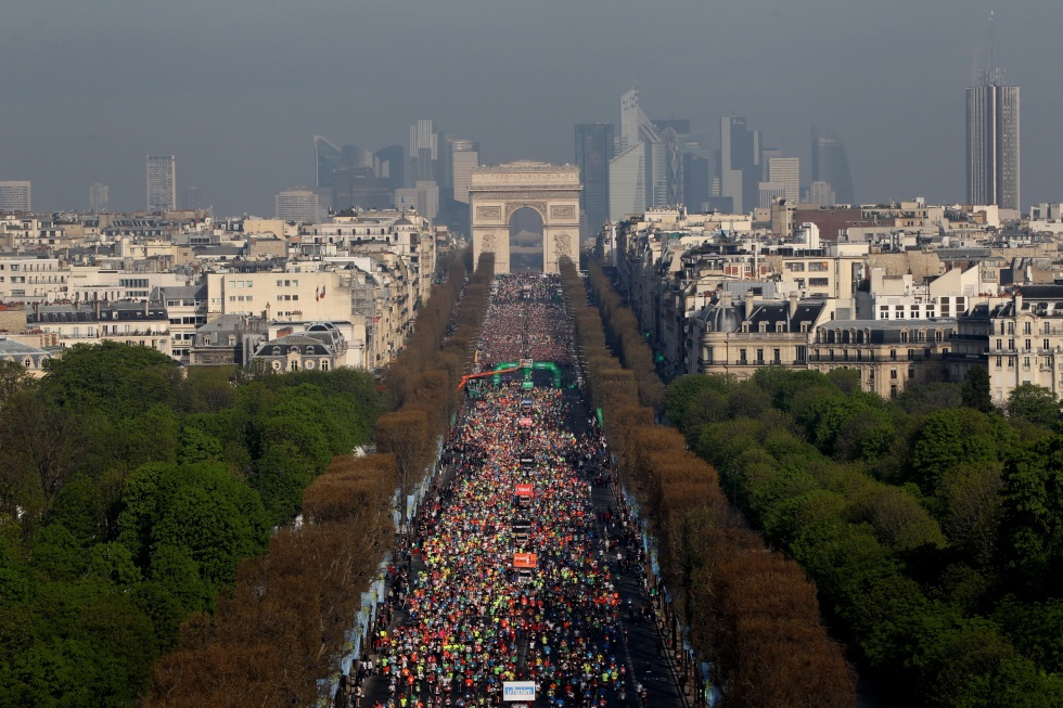 The Paris Marathon Grand Depart